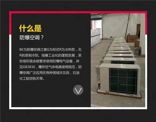 蓄电池房防爆空调机案例图